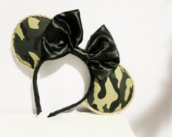 Army Camouflage Mouse Ears