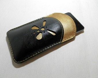 SALE! Before 27 EUR, Today: 20 EUR Leather phone case ,   Leather Purse, Genuine Leather  case
