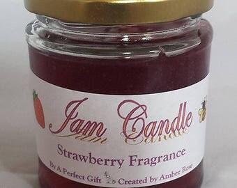 Strawberry Jam Candle