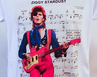 David Bowie ziggy stardust  shirt gift, shirt, shirts, gift,david bowie shirt,  t shirt, tshirts, t shirts, t-shirts,tees,tshirt,t shirt.