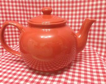 Modern 1990's Red Teapot, Red Teapot