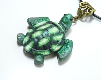 Turtle Charm, Turtle Necklace, Turtle Pendant, Sea Turtle Necklace, Sea turtle Pendant, Turtle Jewelry, Gift for everyone, Ocean Charm