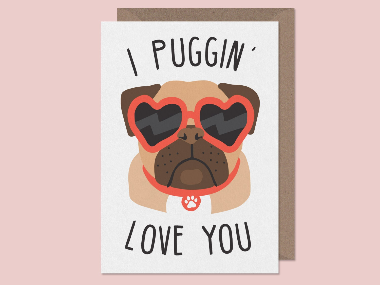 Pug valentine – Pug Valentine Cards