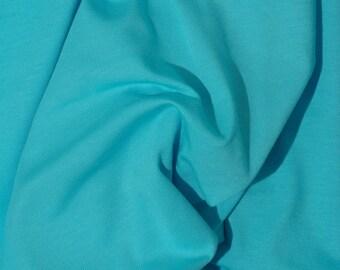 Jersey turquoise fabrics