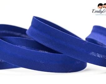 bias tape dark blue, bias binding,