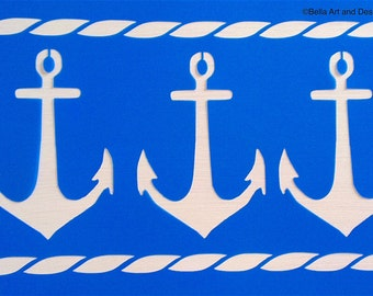 List 3 - Nautical stencils *Free gift with every order*