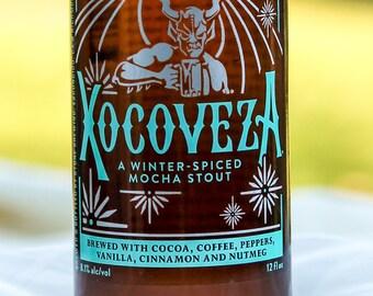 Stone Xocoveza Beer Glass