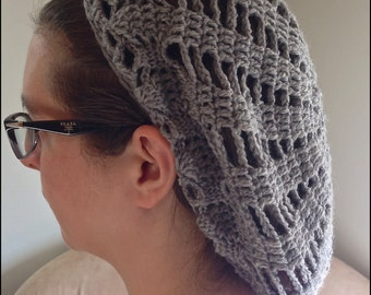 Light Grey Medieval Inspired Snood / Hairnet