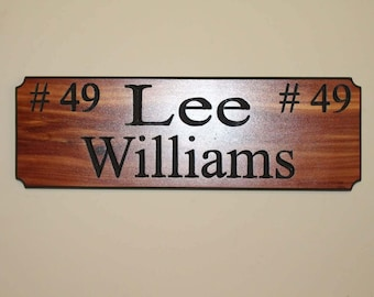 Custom Wooded Signs