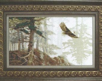 Cross Stitch Kit The flight of the eagle