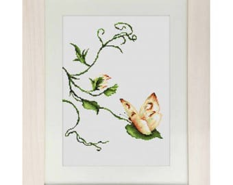Cross Stitch Kit Touch (butterfly)