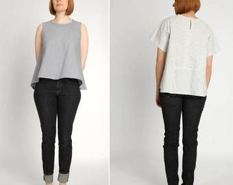 The Collins Top PDF sewing pattern