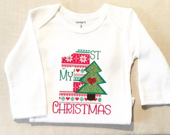 """Shop """"babys first christmas"""" in Clothing"""