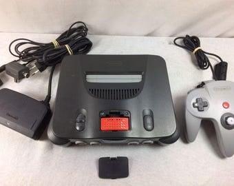 Nintendo 64 With Expansion Pak
