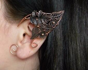 Elven ears (a pair).elf earrings,no piercing earrings, LARP jewelry , fairy ears . Elfen-Ohrschmuck .