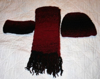 Headband, Hat & Scarf Set