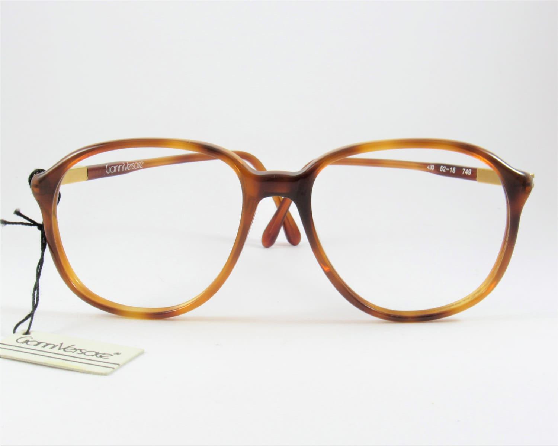 Vintage Glasses Frames, Gianni Versace Eyeglasses, Oversized ...