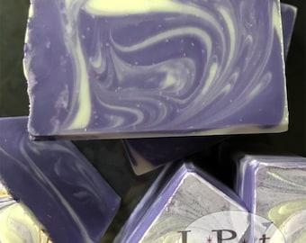 Purple People Cleaner, handmade soap