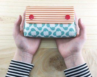 Small wallets for women, Unique womens wallets, womens wallet, Cute womens wallet Turquoise womens wallet Gift for her Gift for bright women