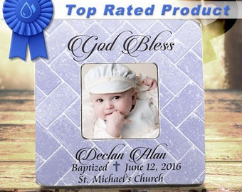 Baptism Gift For Boy Personalized Baptism Gift Christening Gifts For Boys Personalized Frame Gift From Godmother Gift From Godfather Gift