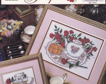 Victorian Teapot, True Colors Cross Stitch Pattern Booklet BCL-10173