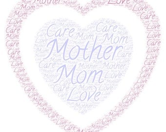 Mother's Day WordArt- *DIGITAL JPEG FILE