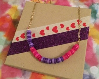 F-Word Morse Code Necklace (Mature)
