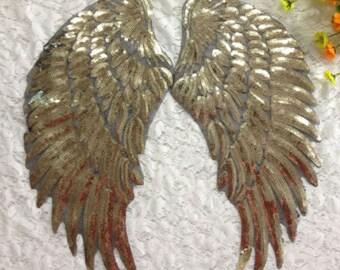 Fabric Angel Wings Etsy