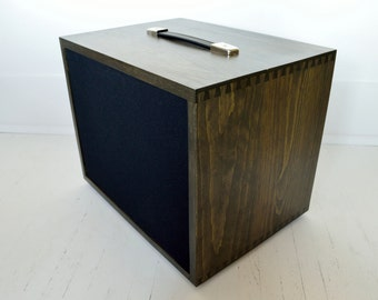 Handcrafted Pine 1x12 Guitar Speaker Cabinet