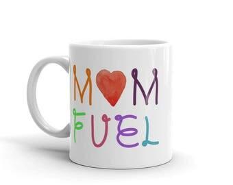 11 oz Coffee Mug:  Mom Fuel