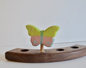 Butterfly Birthday Ring Waldorf Ornament