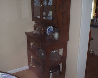 dining room kitchen unit ,custom made ,solid wood one of a kind