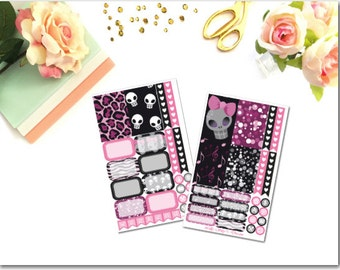 Rock Star Happy Planner 2 Page Kit