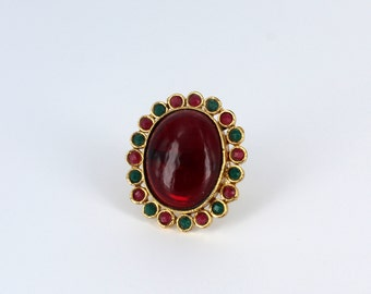 Red & Green Ring