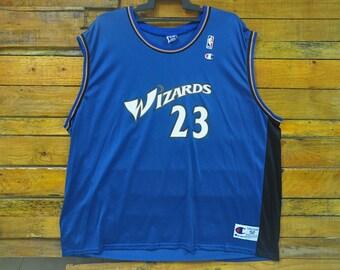 Rare Vintage Michael Jordan Washington Wizards Champion Jersey,Size 52,Vintage Michael Jordan Jersey,NBA Team,Big Size,Hip Hop,RAP,Skater