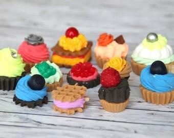 "12 pcs. Set of fridge magnets ""Cookie"""
