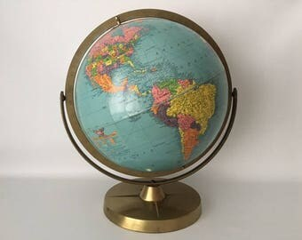 Vintage 1960's Globe