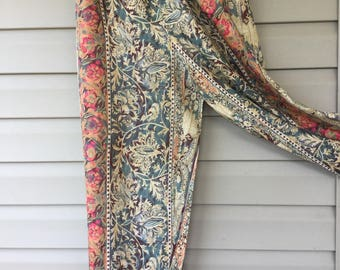 Wide Leg Pants, Vintage Palazzo Avon, Ladies Pants, Made in USA, Plus Size,Size 1x (16/18)