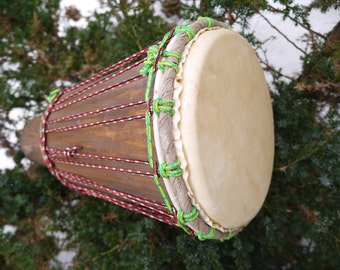 IN STOCK! Ashiko style hand drum, djembe,  african drum