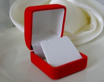 12 earring case of velvet pouches boxes gift packaging
