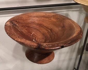 Bowl - Small natural edge walnut bowl