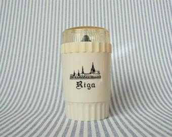 Pepper MILL Vintage/ Small Mechanical Salt & Pepper Mill/ Decor Riga/ Vintage Kitchen Gadget/ USSR, 1980s