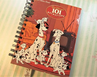 Disney 101 Dalmatians Book Altered Upcycled Notebook Journal