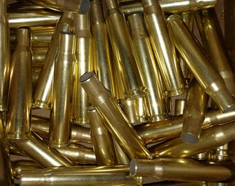 50 Caliber Brass Spent Bullet Casing! Empty Spent Ammo Cartridge Shells!