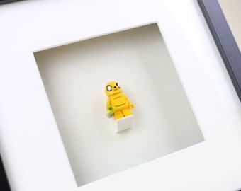 Jake The Dog, Adventure Time, LEGO Minifigure Art Frame