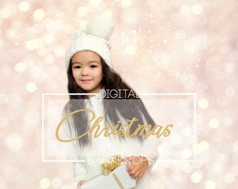 20 Christmas digital backdrops