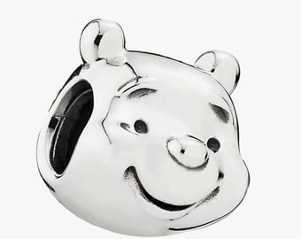 Pandora Disney Winnie the Pooh Charm 791566 - 925 Sterling Silver in JewellerY Pouch