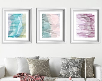 Printable wall art set, set of 3 wall art, abstract wall art,printable abstract,printable wall art,art print set, set of 3, abstract art set