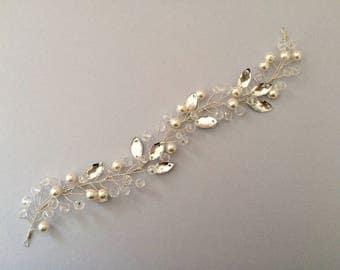 Bridal Hair Vine, Bridal Headpiece