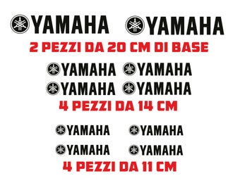 COD-001 STICKERS YAMAHA